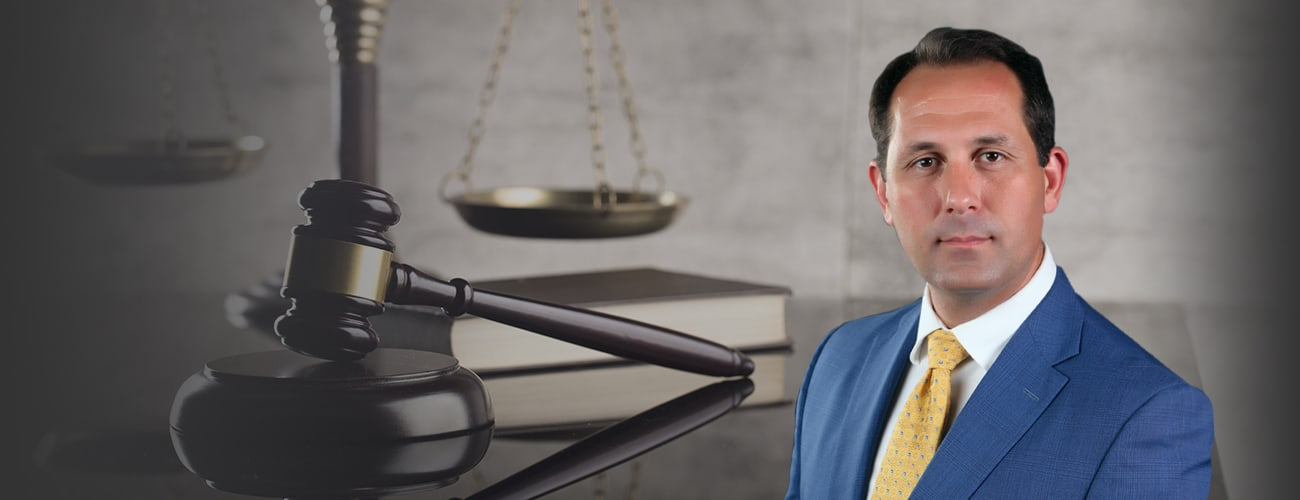 Lawyer Photo over the scales of Justice